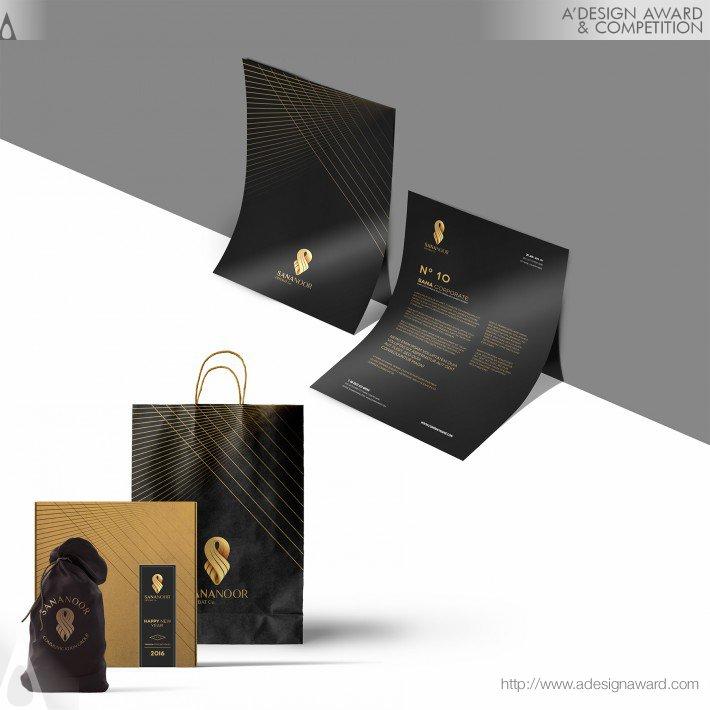 Sananoor Co (Corporate Identity Design)