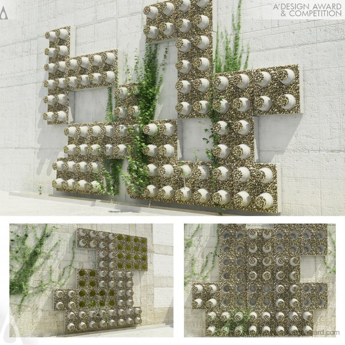 D-Eco Brick (Decorative Ecological Bricks Design)
