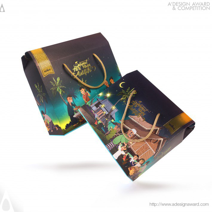 Malaysian Festive Packaging Collection (Packaging Box Design)