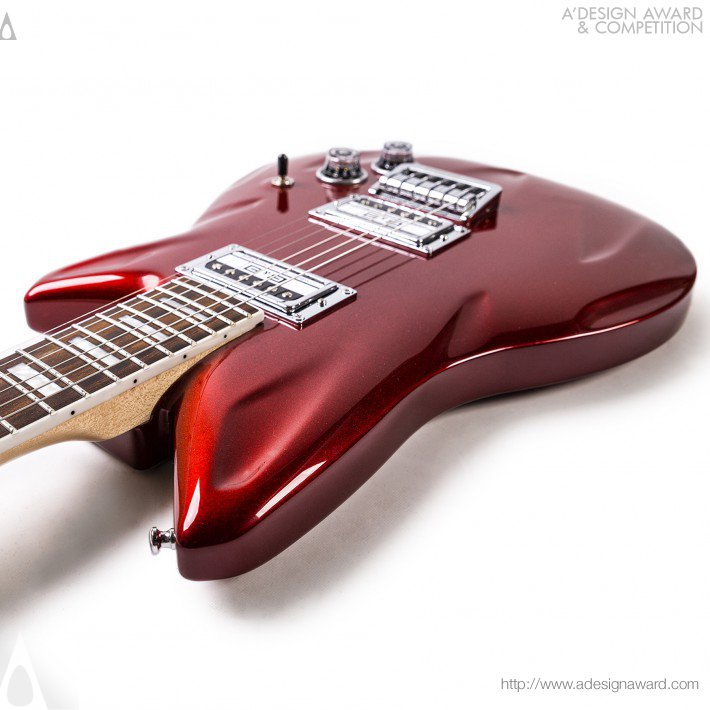 Electric Guitar by David Flores Loredo