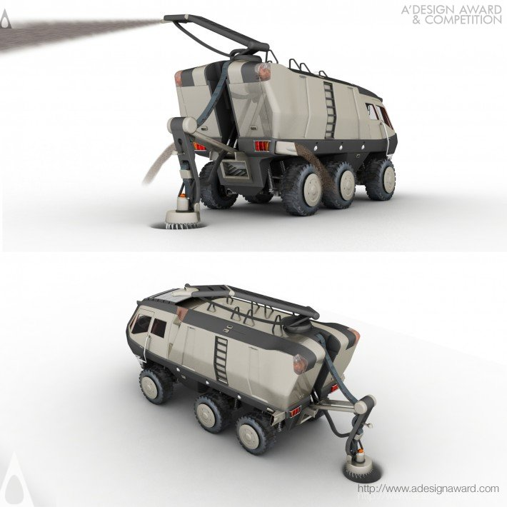 Fire Knight (Fire Fighting Vehicle Design)