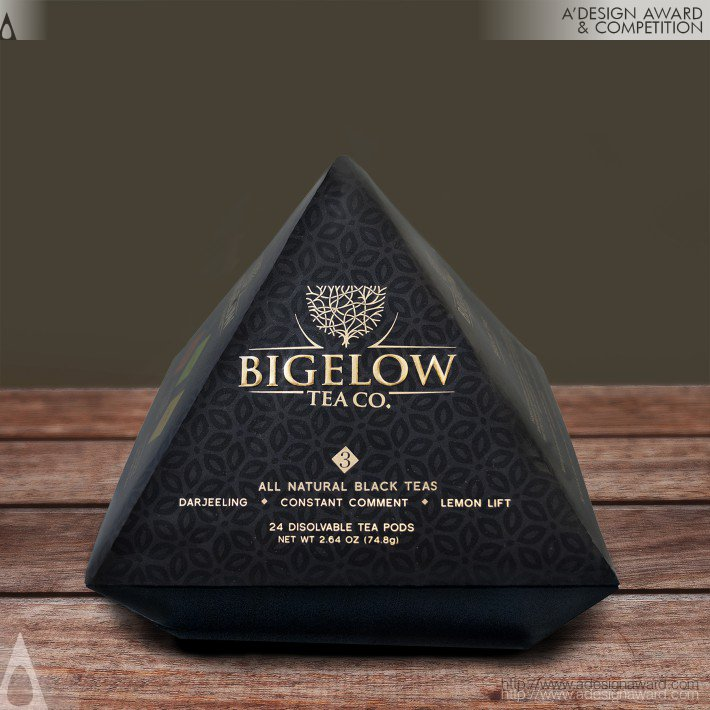 Bigelow Tea Rebrand (Tea Gift Set Design)