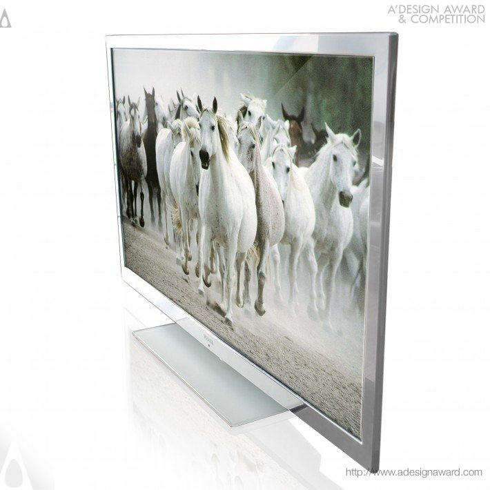 "V Tv-46120 (46"" Led Tv Supporting The Hd Broadcast Design)"