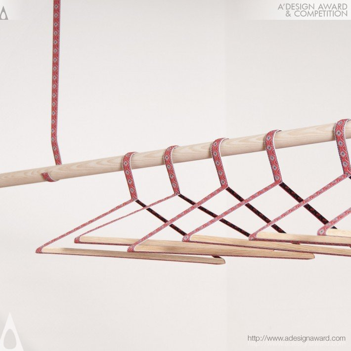 Oksana Coat Hangers (Coat Hanger and Coat Rack Design)