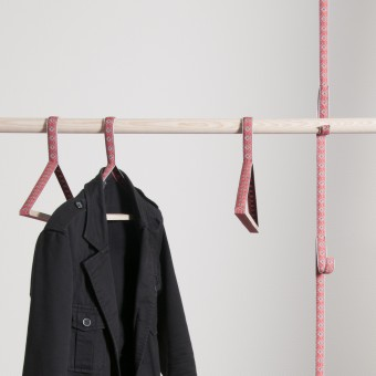 OKSANA coat hangers Coat Hanger and Coat Rack by Bernhard Burkard