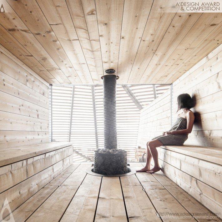 Loyly (Public Sauna and Restaurant Design)