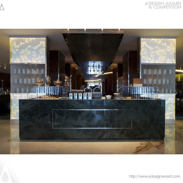 The Tea Lounge (Hotel Lobby Design)
