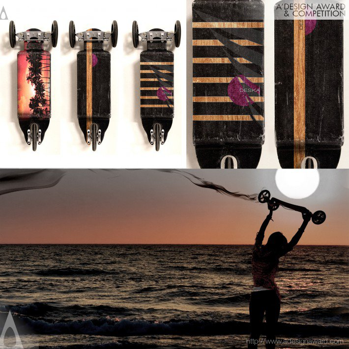 Deska Board (Multifunctional Cruiser Board Design)