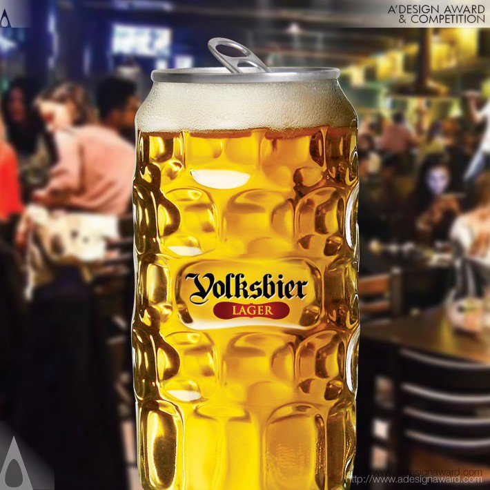 Volksbier (Pet Container Design)