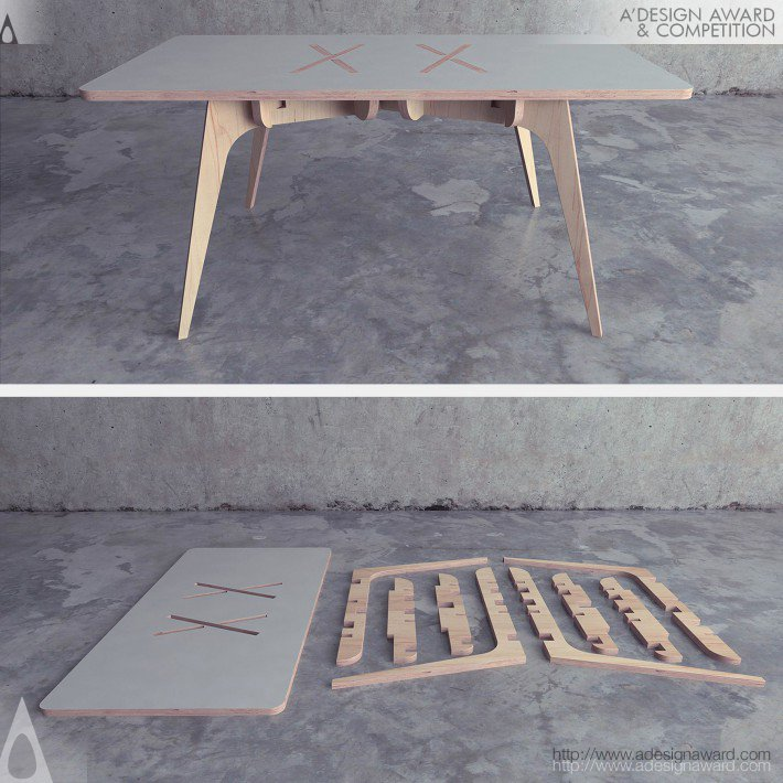 Table by Saïd Belmir