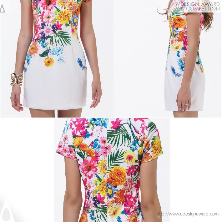 Floral Dress (Fashion Design)