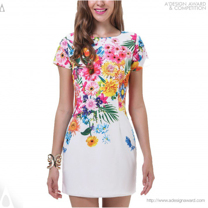 Floral Dress (Fashion Design)
