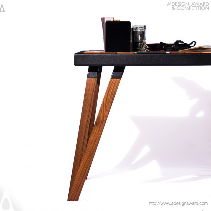 Work Table by Andrea Cecilia Alcocer Carrillo