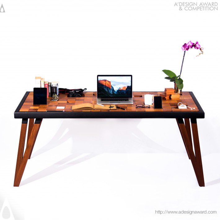 Timbiriche Work Table by Andrea Cecilia Alcocer Carrillo