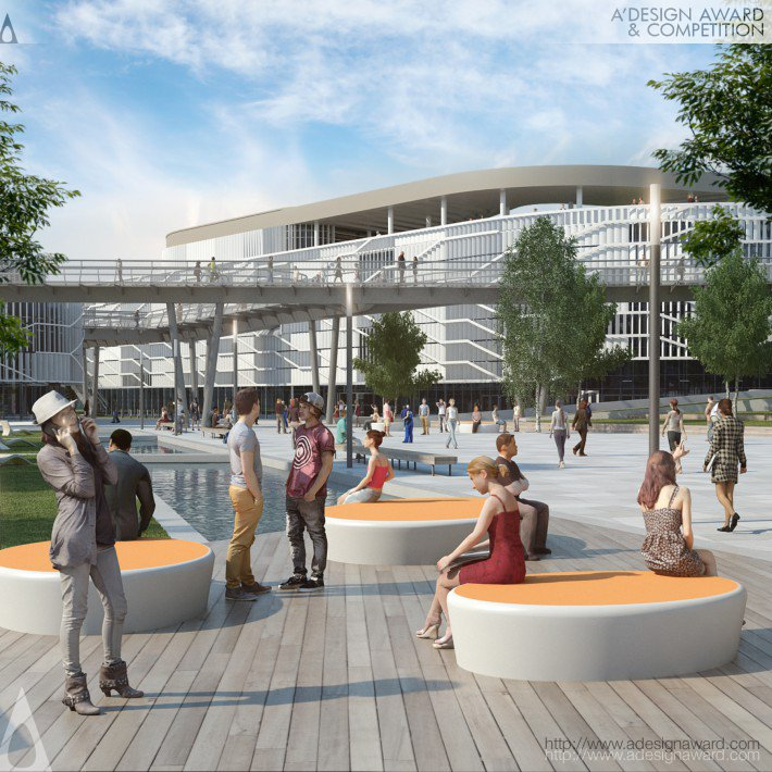 Campus in Kecskemet, Hungary (Campus Design)