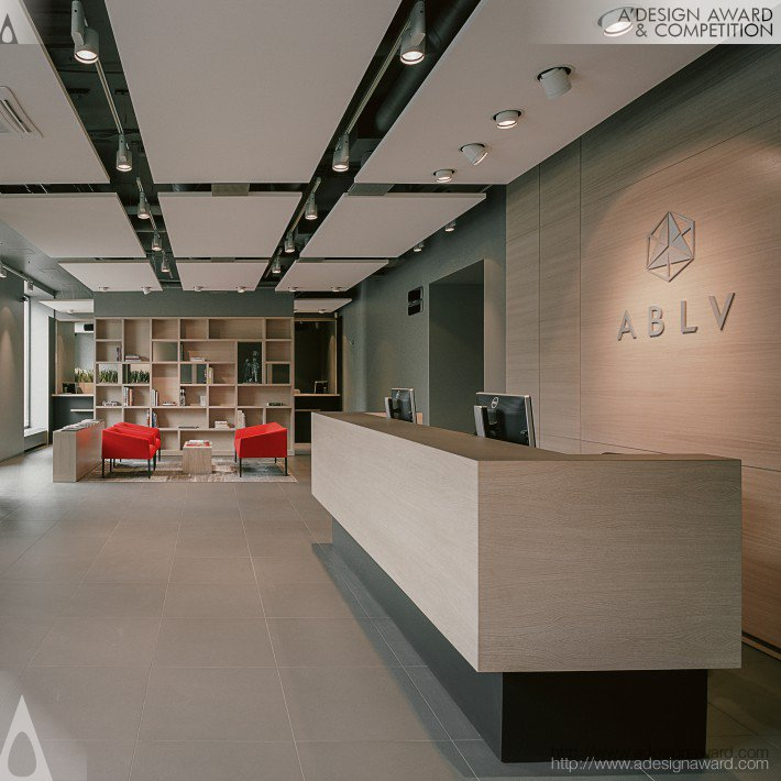 A B L V Bank Interior Design By Studio H2E