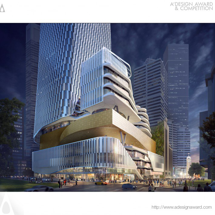 Xinhua Bookstore Group Mixed-Use Project (Mixed-Use Design)