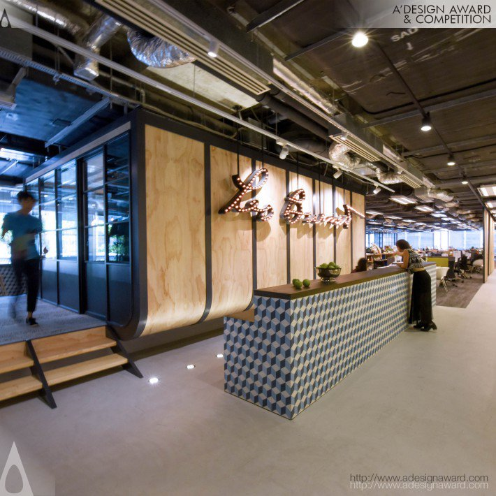 Leo Burnett (Workplace Design Design)