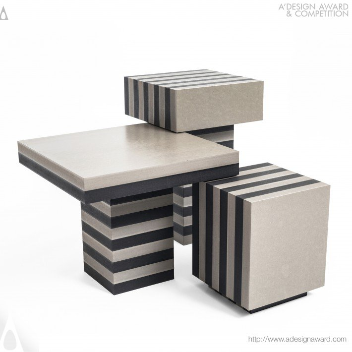 Layers Coffee Tables by Kajsa Willner