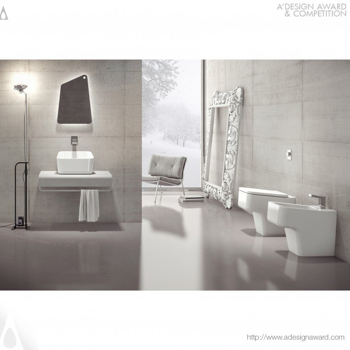 Up (Bathroom Collection Design)