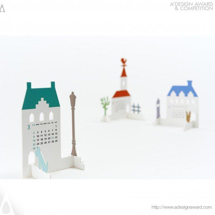 "Calendar 2014 ""town"" (Calendar Design)"