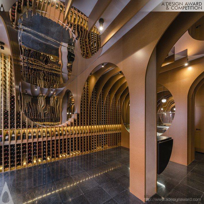 De Vinos Y Viandas Wine Shop by Zooco Studio