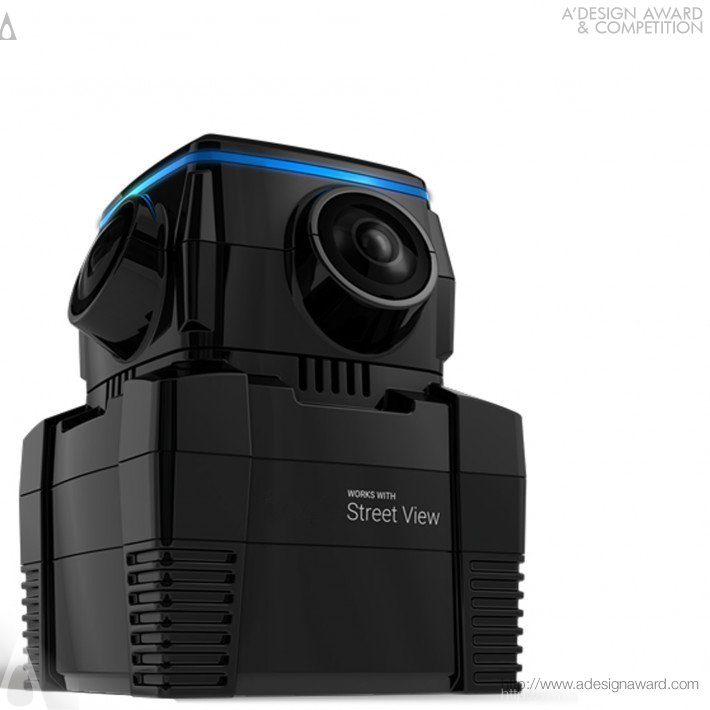 Iris 360 Camera (360 Degree Sperical Camera Design)