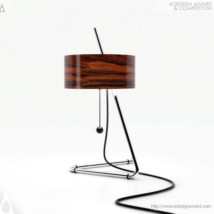 Drum (Table Lamp Design)