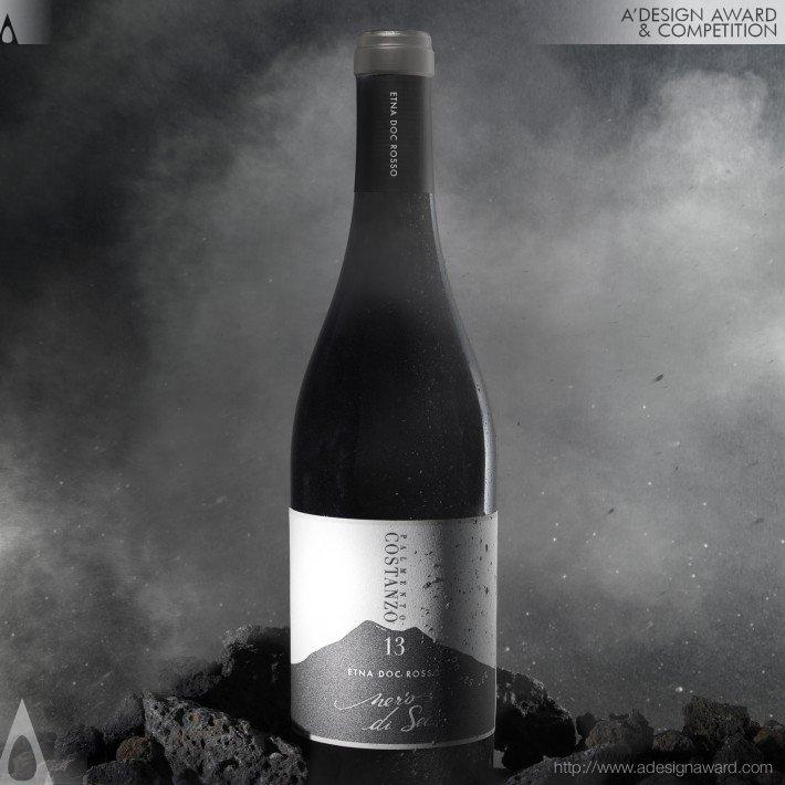 Nero Di Sei/Bianco Di Sei (Wine Label Design)