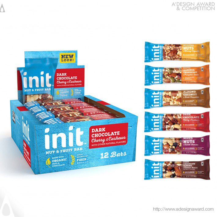 Init Fruit & Nut Bar by PepsiCo Design & Innovation