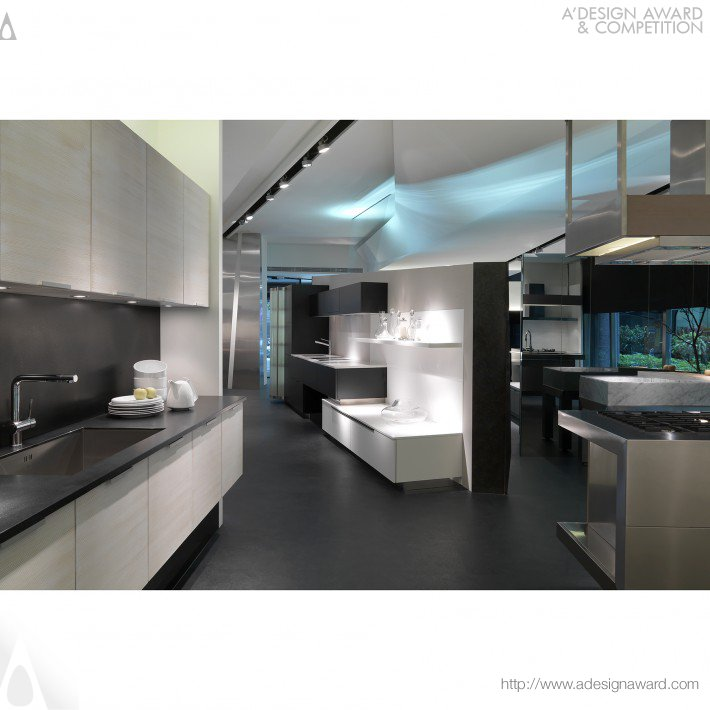 Studio. Ho Design Ltd. - Rationality and Sensibility Cucine Showroom