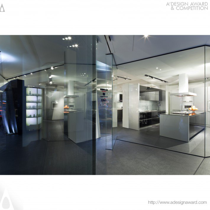 Rationality and Sensibility Cucine Showroom by Studio. Ho Design Ltd.