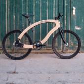 Wooden Ebike