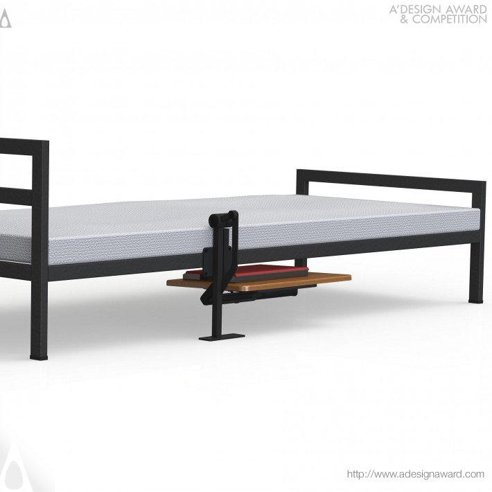 A Design Award And Competition Ergo Table For Bed