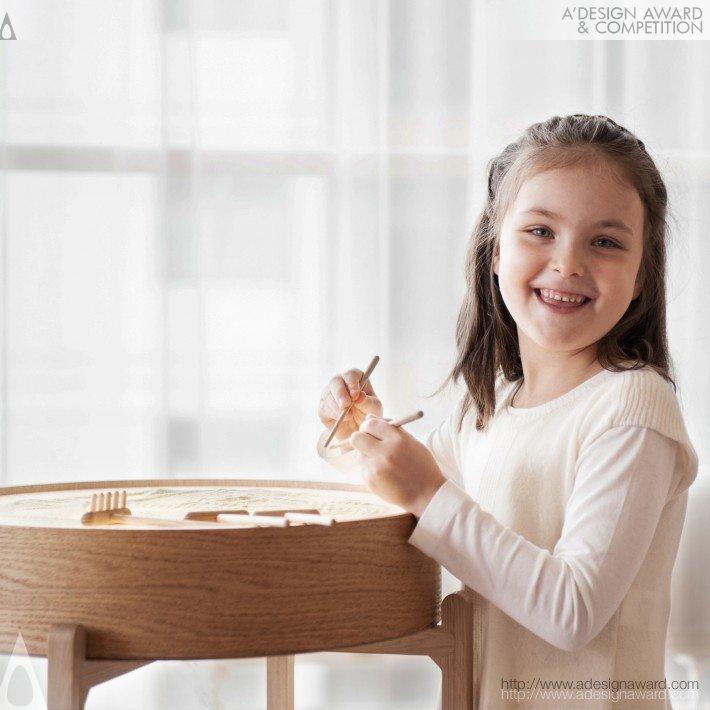 Monai (Human Centric Lightening Table Design)