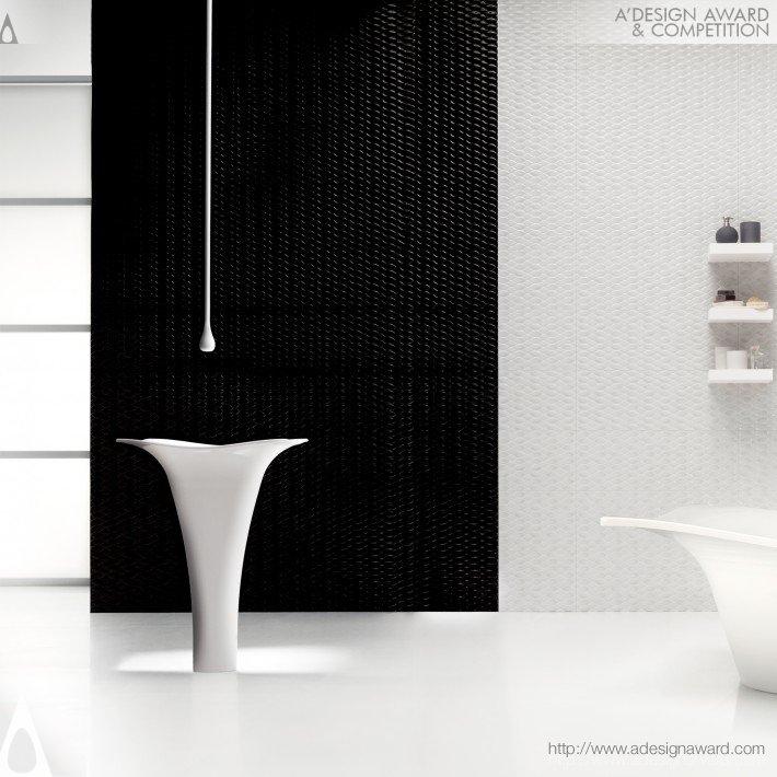 tolga berkay lotus bathroom set