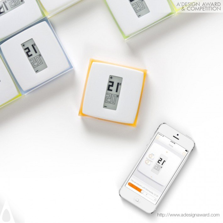The Netatmo Thermostat For Smartphone (Individual Home Thermostat Design)