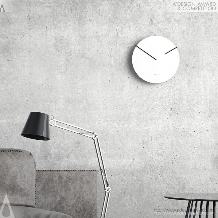 Imnu Wall Clock by Jara Freund
