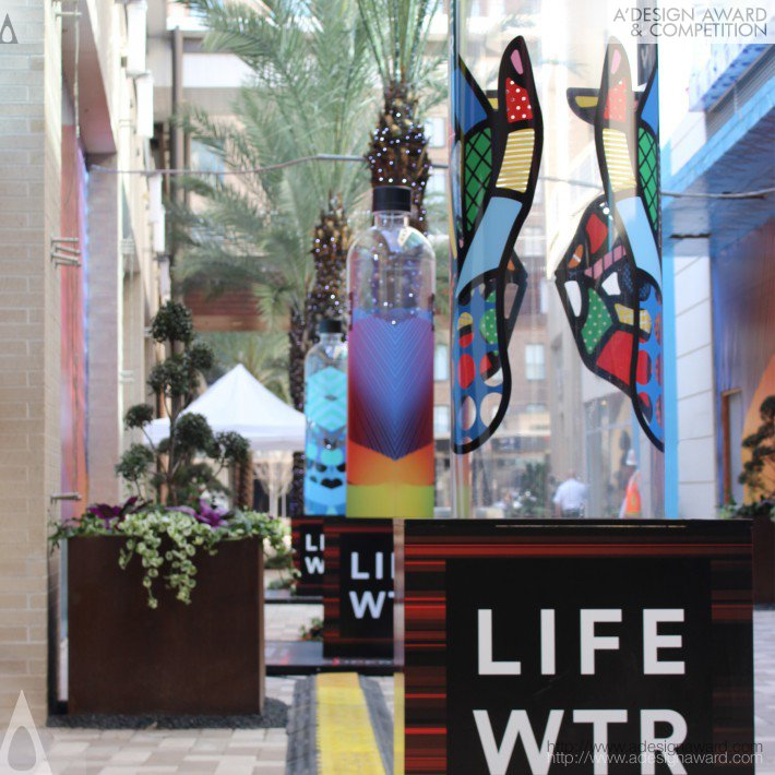 Lifewtr Series 1 (Bottle Graphics Design)