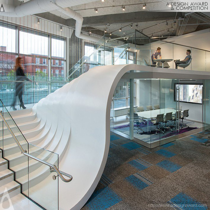 Perkins + Will - Shaw Contract Group Atlanta Showroom Showroom + Office