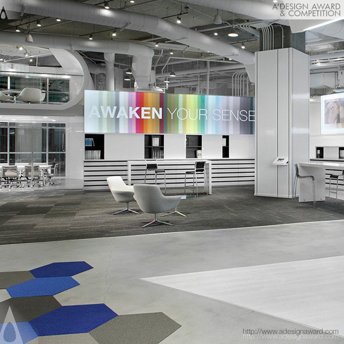 Shaw Contract Group Atlanta Showroom by Perkins + Will