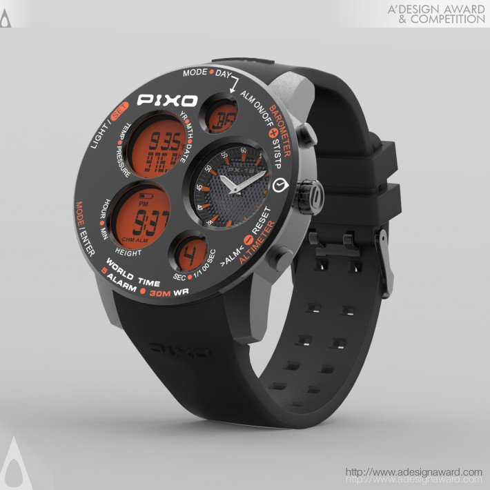 Mission (Multifunctional Watch Design)