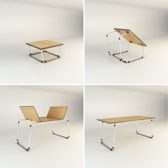Air transformable table coffee table dinning table - Table transformable but ...