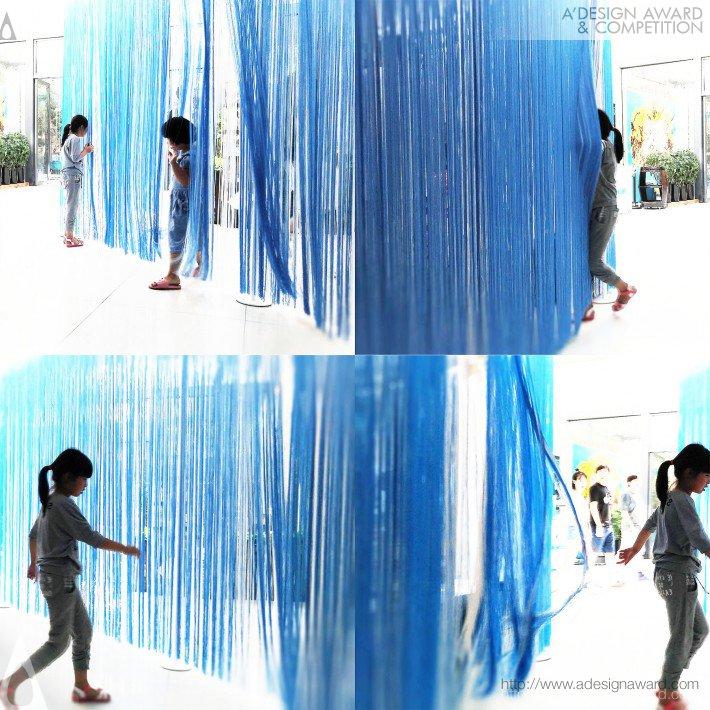 Interactive Exhibition Pavilion by Kevin Chu