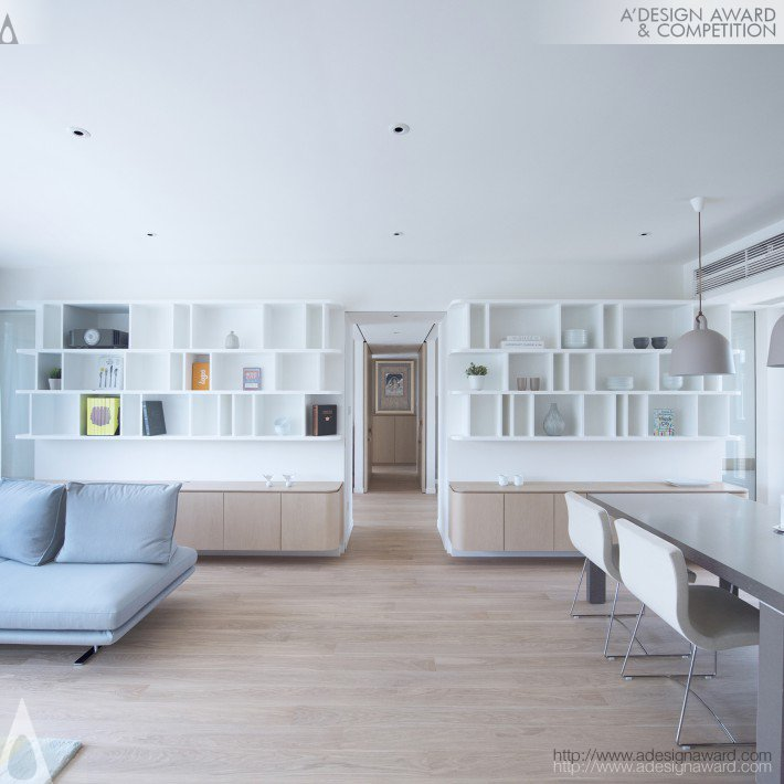Disappearing (Residential Apartment Design)