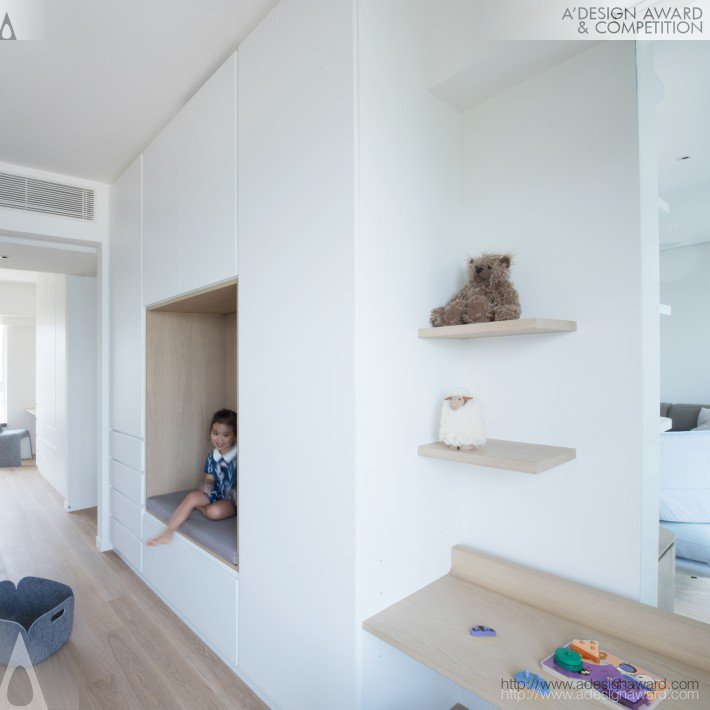 Residential Apartment by Bean Buro