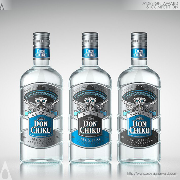 Don Chiku (Tequila Packaging Design Design)