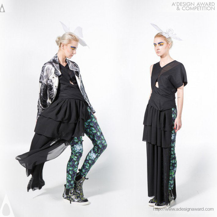 Polly Ho - Androgynous-Butterfly Lovers Womenswear Collection