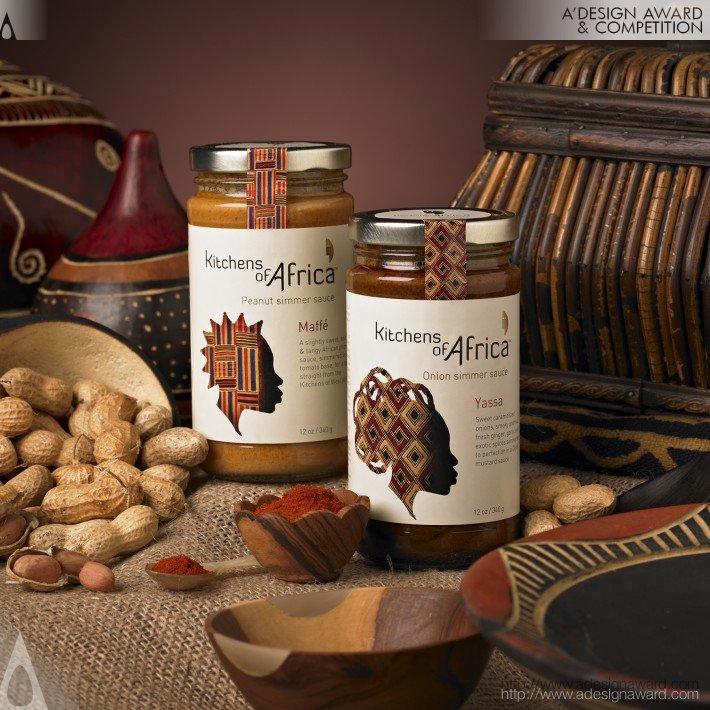 Kitchens of Africa (Brand & Packaging Design Design)