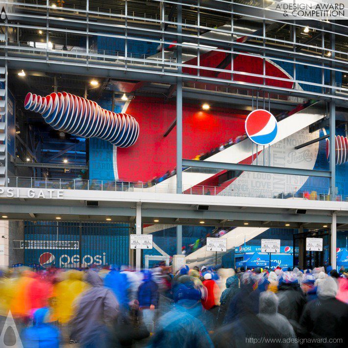 Pepsi Metlife Stadium (Exhibition Design)